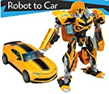 Robot to Car Converting Transformer Bumblebee Die Cast Metal Edition