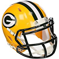 Forever Collectibles - Green Bay Packers - Nfl - Riddell - Mini Helm - Yellow