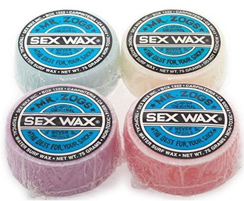 Sex Wax Original Blue Label Tropical