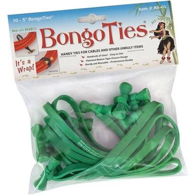 bongoties alle grün Bongo Kabelbinder A5–01-g ~ 10Stück