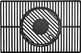 Landmann Grillrostsystem Modulus (eckig) 15912, anthrazit, für Rexon 3.0, 3.1