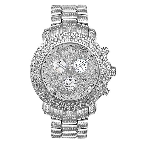 Joe Rodeo Diamond orologio da uomo - Junior Silver 20.5 Ctw