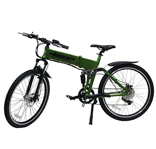"Details zu Mountainbike E-Bike Elektro 26"" 66cm ALU 6 Gang Shimano Fahrrad Faltrad Ebike"