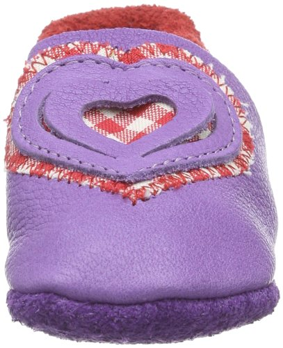 Pololo 161526, Chaussons fille Violet-TR-F4-29