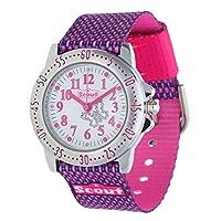 Scout horloge analoog kwarts horloge met textiel armband 280378006