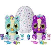 Hatchimals - 6044070 - Peluche interactive surprise - HatchiBabies Ponette