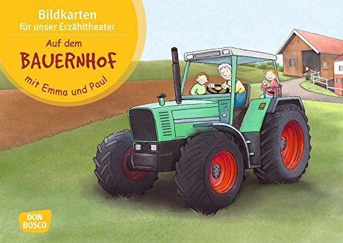 Auf dem Bauernhof mit Emma und Paul. Kamishibai Bildkartenset.: Entdecken - Erzählen - Begreifen: Mit kleinen Kindern durch das Jahr (Mit Kindern durch das Jahr - Bildkarten für unser Erzähltheater)