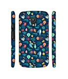 Casotec Aquarium Texture Designer 3D Printed Hard Back Case Cover for Motorola Moto G 2nd Generation