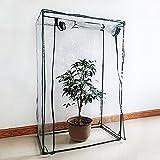 Serre deJardin PE Plastique Tente Abri pour Tomates et Autres Plantes (Ne contient...