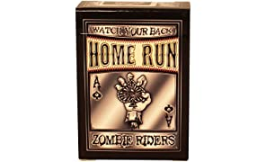 Home Run Games Zombie Rider Black Playing Cards