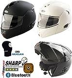 Viper rs-v131Plus Bluetooth Motorrad Bike Flip Up/Front Modular Rider Helm & Sturmhaube