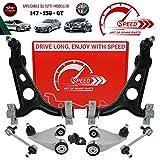 Kit de brazos de suspensión delantera original Speed by SMC, 8piezas de brazos reforzados para mayor duración