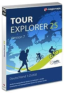 TOUR Explorer 25 Set Süd, Version 7.0