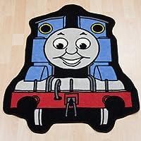 Childrens/Kids Boys Thomas The Tank Engine Bedroom Floor Rug/Mat (84cm x 67cm) (Blue/Red)