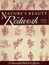 Nature's Beauty In Redwork