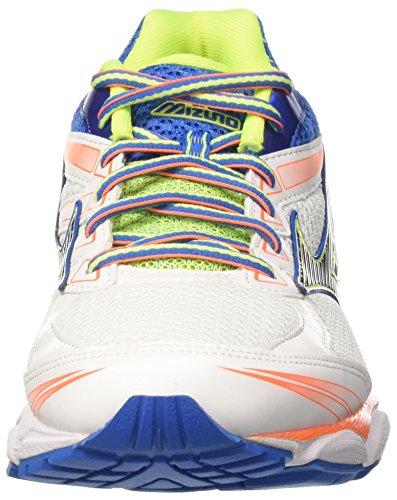 Mizuno Shoe Wave Ultima, Chaussures de Running Homme, White/Black/Directoireblue Multicolore (White/black/directoireblue)