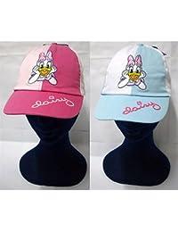 Cappello con visiera femminuccia Disney Paperina rosa e celeste 51 CM -  99831 296c5b03b4d5