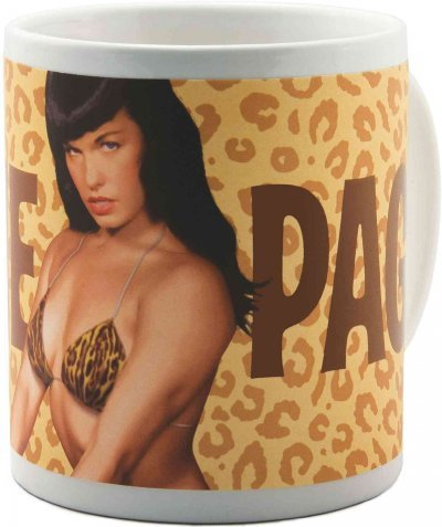 (Bettie Page: Leopard Mug) By Dark Horse Deluxe (Author) Hardcover on 01-May-2009 Bettie Page Leopard