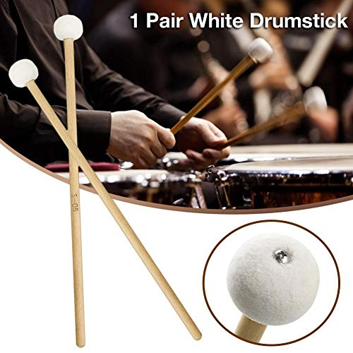 Oddity Bacchette per Batteria Accessori per percussioni per Batteria Timpanis, 1 Paio