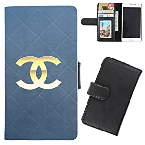DooDa - For Samsung Galaxy S2 PU Leather Designer Fashionable Fancy Flip Case Cover Pouch With Card, ID & Cash Slots And Smooth Inner Velvet With Strong Magnetic Lock