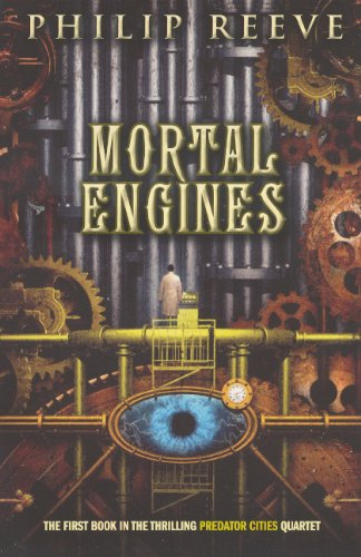 Book cover for Mortal Engines