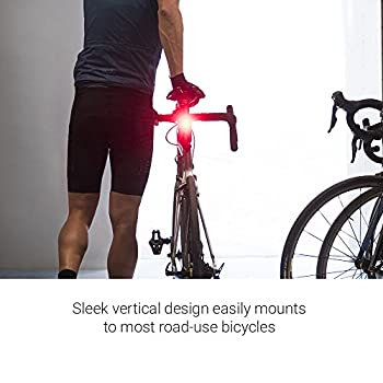 Garmin Varia RTL510 Bike Radar Tail Light and Head Unit Bundle- Black