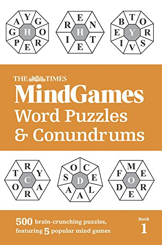 The Times Mind Games Word Puzzles and Conundrums Book 1 thumbnail
