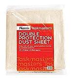 Harris Contractor - Cobertor para suelos (algodón con base de politeno)