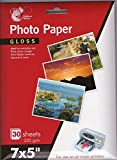 "7 x 5"" Gloss Photo Paper, 30 Sheets 235 gsm"