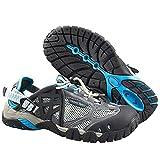 AHELMET Neutral wasserdichte Schuhe Wandern Outdoor Klettern Sandalen Sport Laufen Waten Schuhe Schuhe (Farbe : Blau, größe : 46EU)