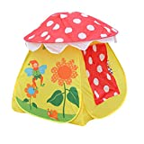 Generic Portable Kids Boys Girls Toy Mushroom Tent - Best Reviews Guide