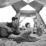 MJY Carpa Carpa para exteriores Carpa automática Grosor de lluvia 2-4 personas Playa Carpa para acampar Multicolor Opcional,Azul,215 * 215 * 142 cm