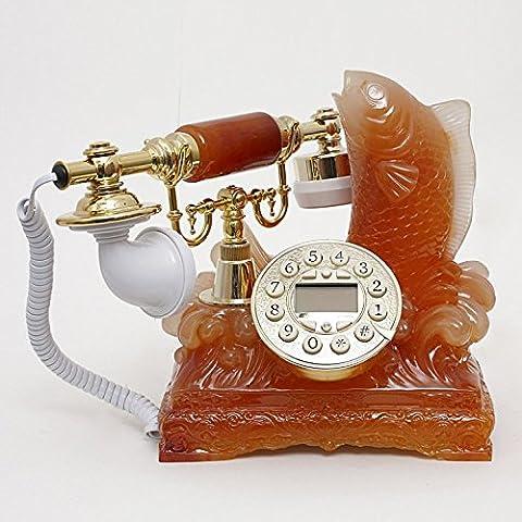 Big Splash resina mestiere antico giada imitazione High-end business casa telefono telefono antico , (High End Telefoni Cordless)
