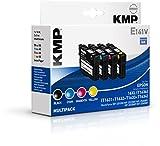 KMP E141V Tintenpatrone ersetzt Epson 16XL (T1636), schwarz/cyan/magenta/gelb