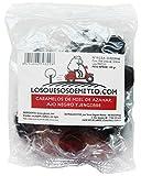 Caramelle al zenzero, aglio nero e miele di Losquesosdemitio (tre pacchetti da 100g, origine Spagna, totale 300g)