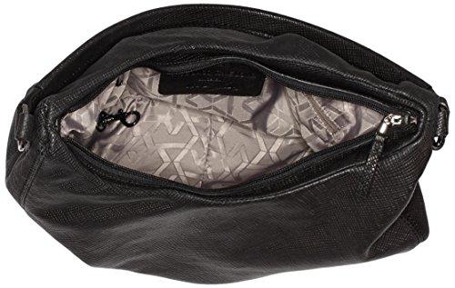 BREE Damen Couco 1, Black Print, Hobo W16 Shopper, 36x24x12 cm Schwarz (Black 900)