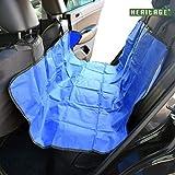 2-in-1-Abdeckplane Wasserdicht für Autorücksitz / -Kofferraum Hunde-/Haustiermatte Kofferraummatte, rutschfest