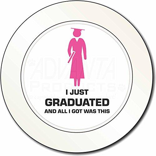 Preisvergleich Produktbild Graduation 'All I Got war dieses ' AutovignetteGenehmigungsinhaber Geschenk