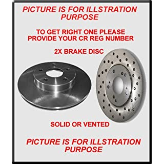 MAN 19.422 FAS 12.0 NEW REAR BRAKE DISCS FROM 2/1990-6/1996 DVU