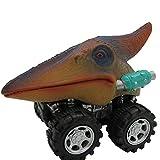 mxjeeio Dinosaurier-Autos, Kinder-Dinosaurier-Fahrzeug, Mini-Tier-Spielzeug für Kleinkinder,Tierfahrzeuge, Party-Gastgeschenke für Jungen Mädchen und Kinder