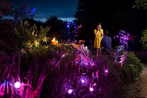 OSRAM LED Gartenleuchte LIGHTIFY Gardenspot Mini Add-On 3 Spots, 1,5m Länge / dimmbar / Farbsteuerung RGB / Kompatibel mit Alexa - 5