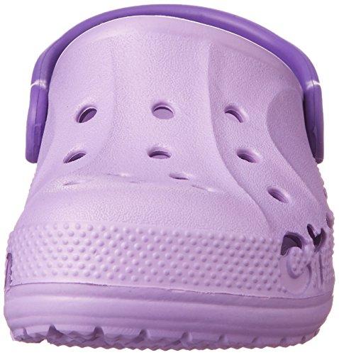 Crocs Baya, Sabots Mixte Enfant Violet (Iris/Neon Purple)