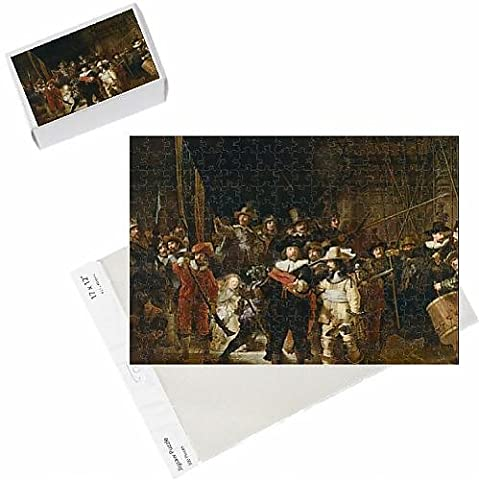 Photo Jigsaw Puzzle of The Nightwatch (colour litho)