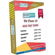 Big Score Academy - Tamilnadu Samacheer Kalvi Class 12 Combo Pack - One Mark Revision - Physics, Chemistry, Maths and Biology (CD)
