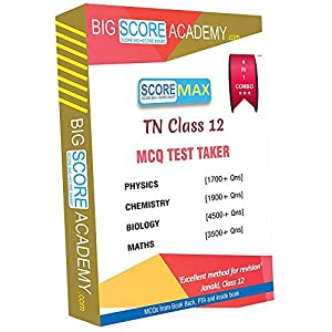 Big Score Academy – Tamilnadu Samacheer Kalvi Class 12 Combo Pack – One Mark Revision – Physics, Chemistry, Maths and…