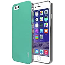 iPhone 5S Case, joah [] Funda para Apple iPhone 5/5S [Verde] Slim Fit carcasa de TPU de protección contra caídas [Choque absorbente] Armor Bumper iPhone 5/5S Funda [fabricado en Corea] (para Apple iPhone 5/5S, Verizon)