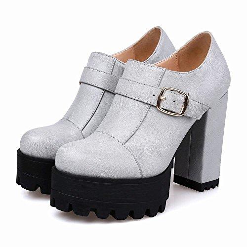 Misssasa Femme Chaussures Élégant Gris