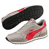 Puma Unisex-Erwachsene St Runner V2 NL Sneaker, Grau (Elephant Skin-Ribbon Red 07), 44.5 EU (10 UK)