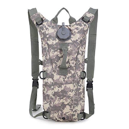 HAOYUXIANG Outdoor Sport Reiten Falten 3L Wasser Tasche Rucksack,C2 C6