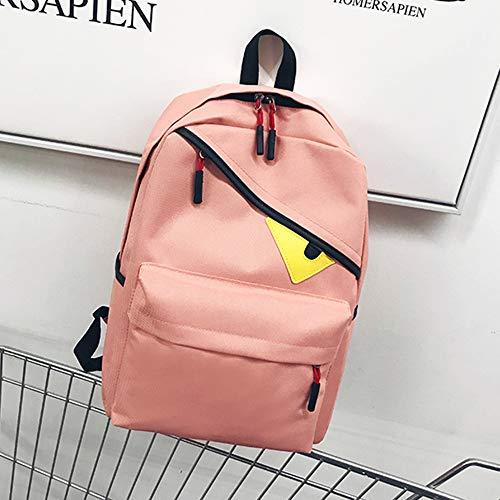 Zaino per Laptop - Zaino per La Scuola Idrorepellente per Laptop Zaino per Scuola Porta Casual in Nylon per Zaino da Viaggio